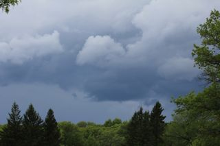 photo of Summer thunderstorm clouds