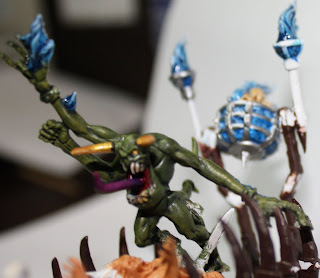 Herald of Tzeentch Work in Progress