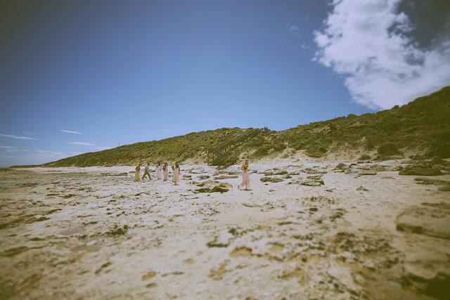 great ocean road vintage  beach wedding