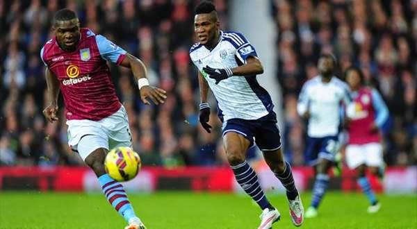 Hasil Liga Inggris: Aston Villa 2-1 West Bromwich