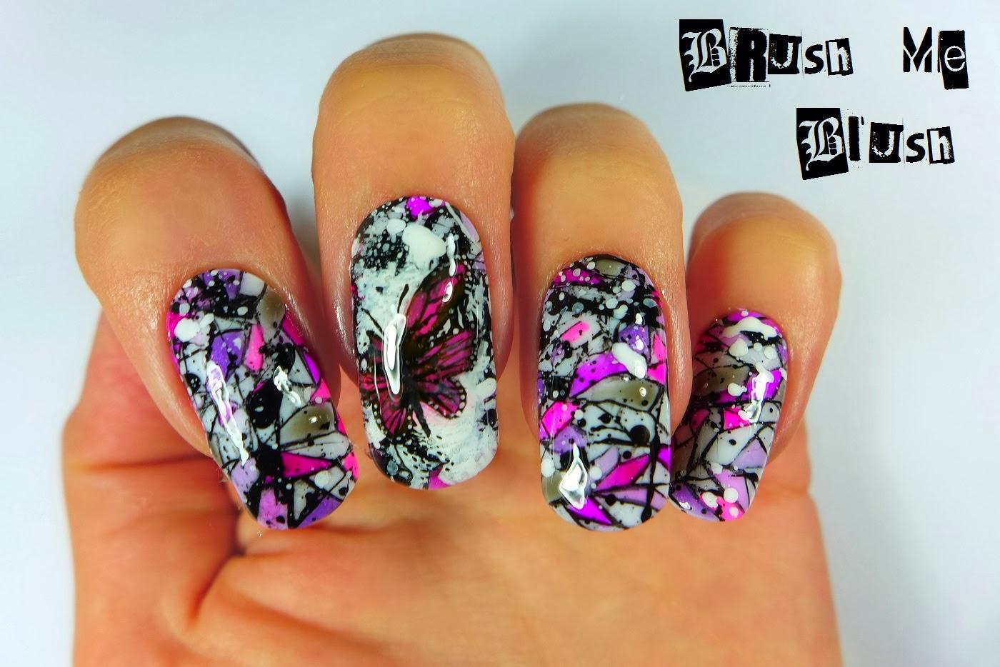 Full color nail art - Full Post Here Use The Nail Art Product Magic Color Changing Mood Soak Off Gel Builder Uv Gel
