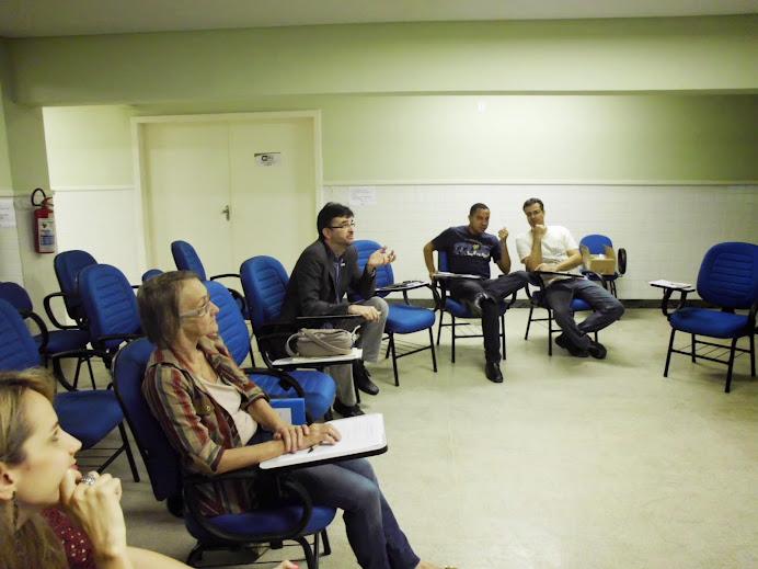 Alcemi Barros durante Formação de Conselheiros de SAN em Cariacica