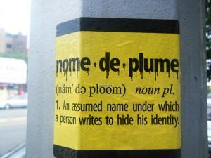 nome de plume