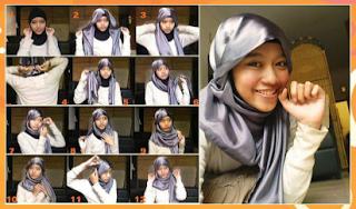 tutorial jilbab hijab Hana Tajima Style
