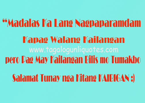 Tagalog Quotes About Friendship Images : Famous quotes about friendship tagalog quotesgram