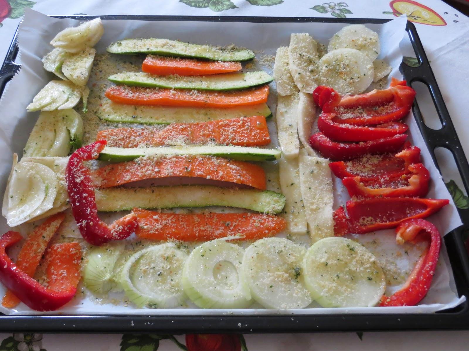 verdure grigliate e nuovo premio