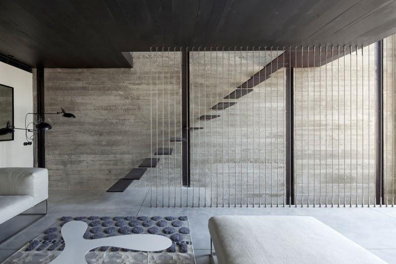 Hestia dise o hormigon o cemento visto for Techos de concreto para casas