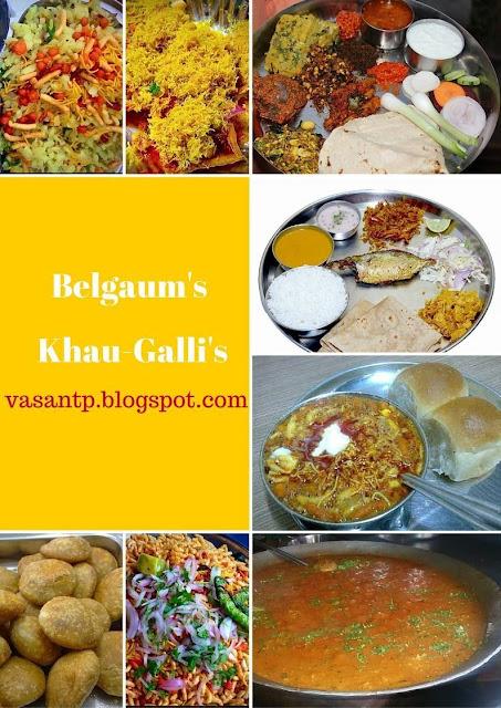 Belgaum city Khau-gallis- Khana Khazana