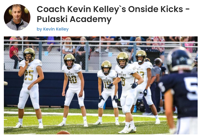 Kevin Kelley Onside Kicks
