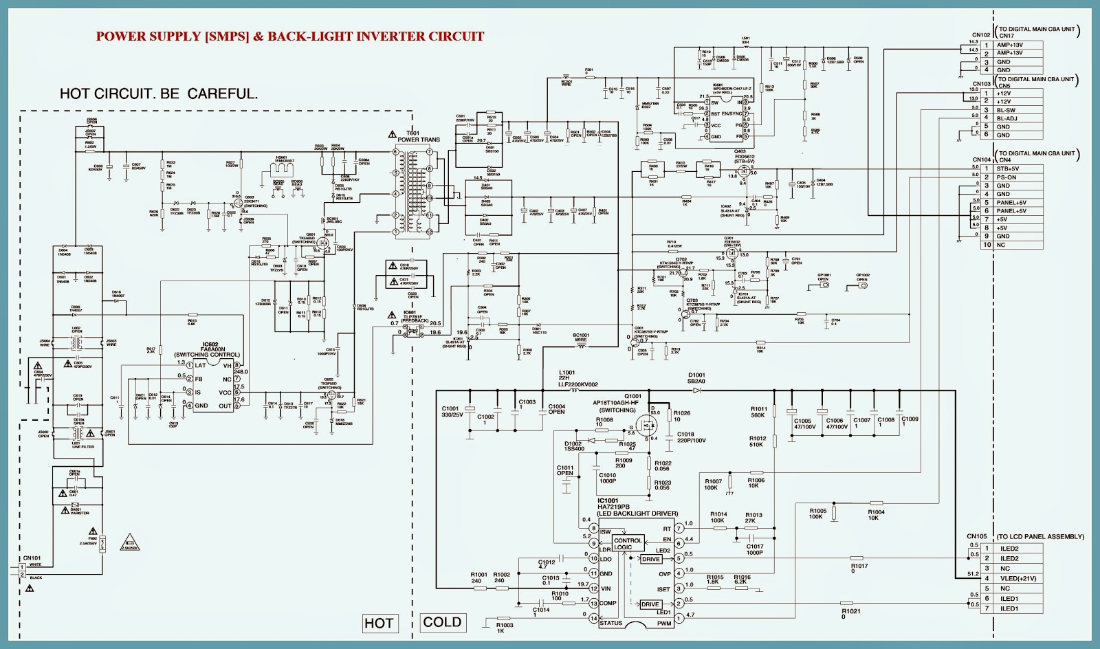 POWER%2B%26%2BBACKLIGHT%2BINVERTER%2BSCHEMATIC electro help samsung led tv wiring diagram at bakdesigns.co