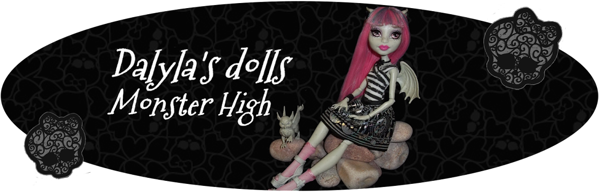 Dalyla's dolls Monster High