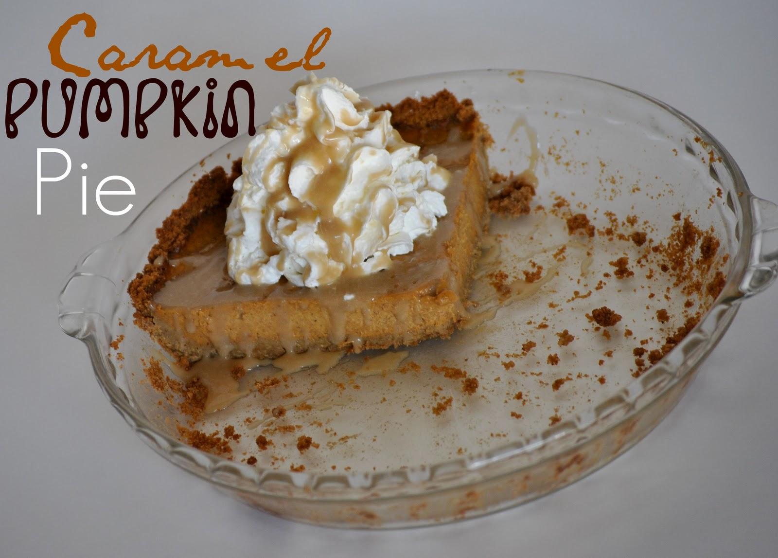 The Farm Girl Recipes: Caramel Pumpkin Pie