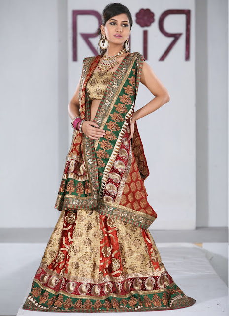 Indian & Pakistani Bridal Dresses 2012, Wedding Dresses for Bride