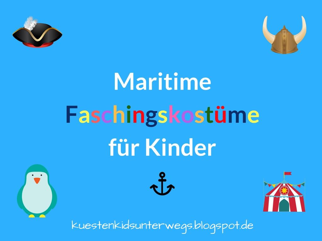 Maritime Faschingskostüme: