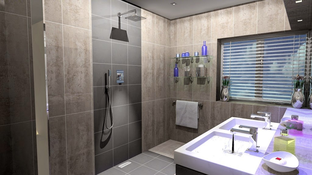 Virtual bathroom designer