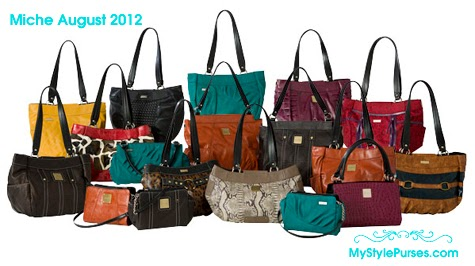 Miche Shells August 2012 Release