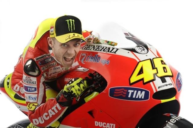 valentino rossi 2011. Ducati 2011 Valentino Rossi