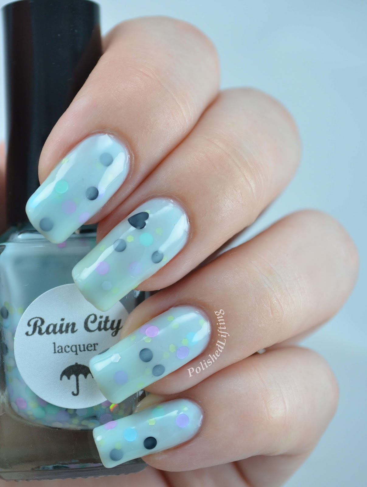 Rain City Lacquer Blueberry Macron