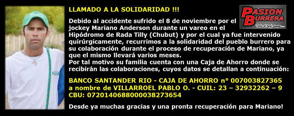 ANDERSON MARIANO - SOLIDARIDAD