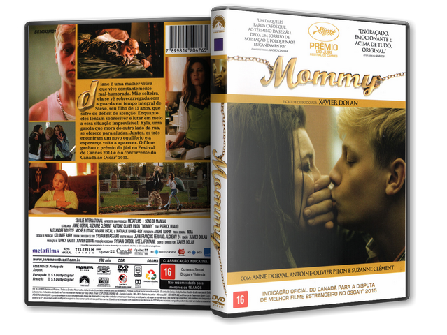 Capa DVD Mommy