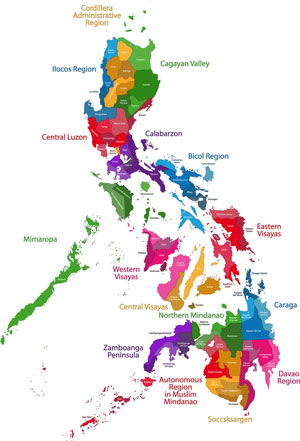 Visit The Philippines Hotels Resorts Tourist Attractions And More - Philippines map