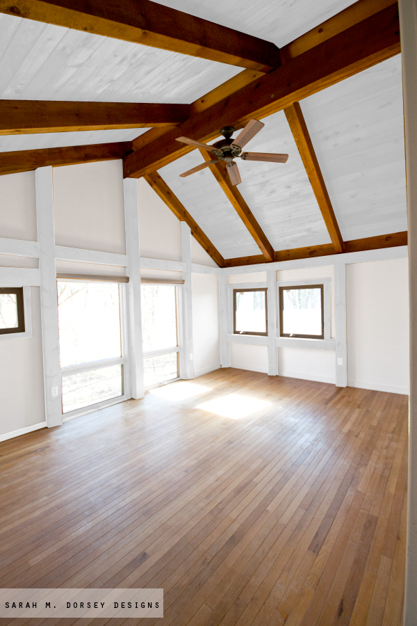 ... should ceilings be white m dorsey designs wood in our house to paint or  ...
