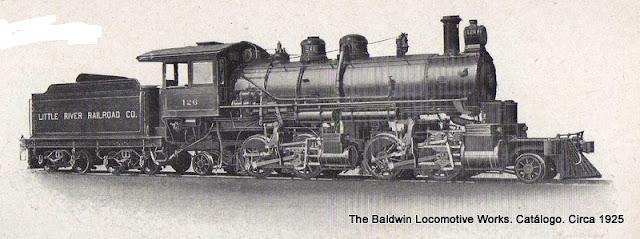 Locomotora Mallet Articulada.Trocha 4 pies 8  1/2 pulg.