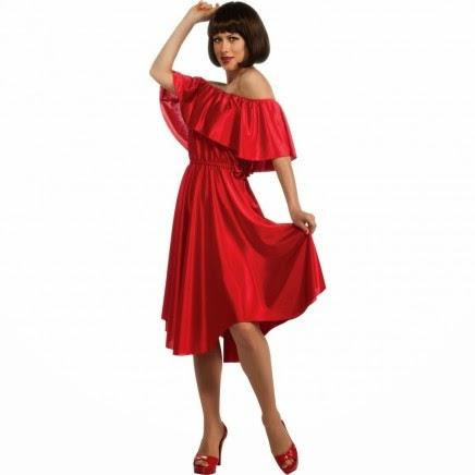 Vestido Rojo Fiebre del Sábado Noche