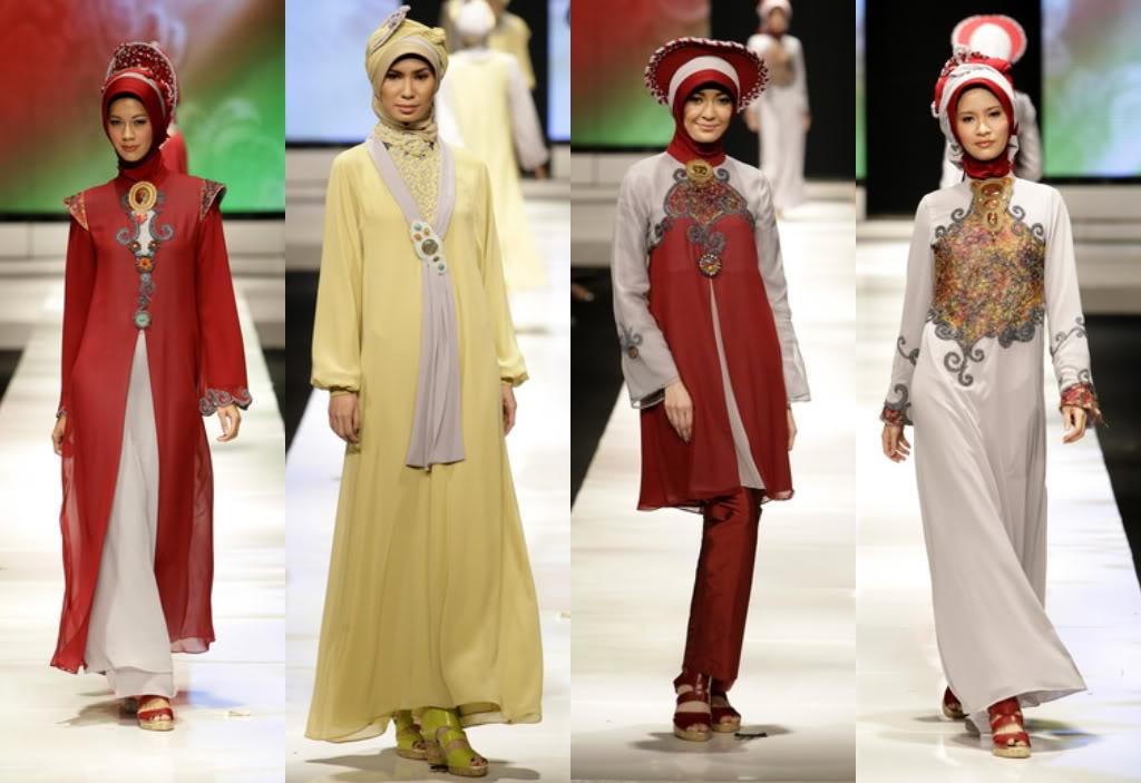 Tampil Cantik Dengan Baju Muslim Modern
