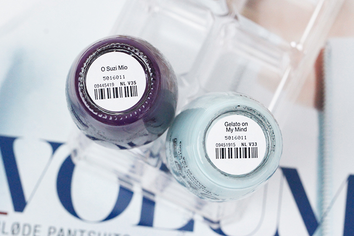 OPI Venice Collection: O Suzi Mio and Gelato on My Mind