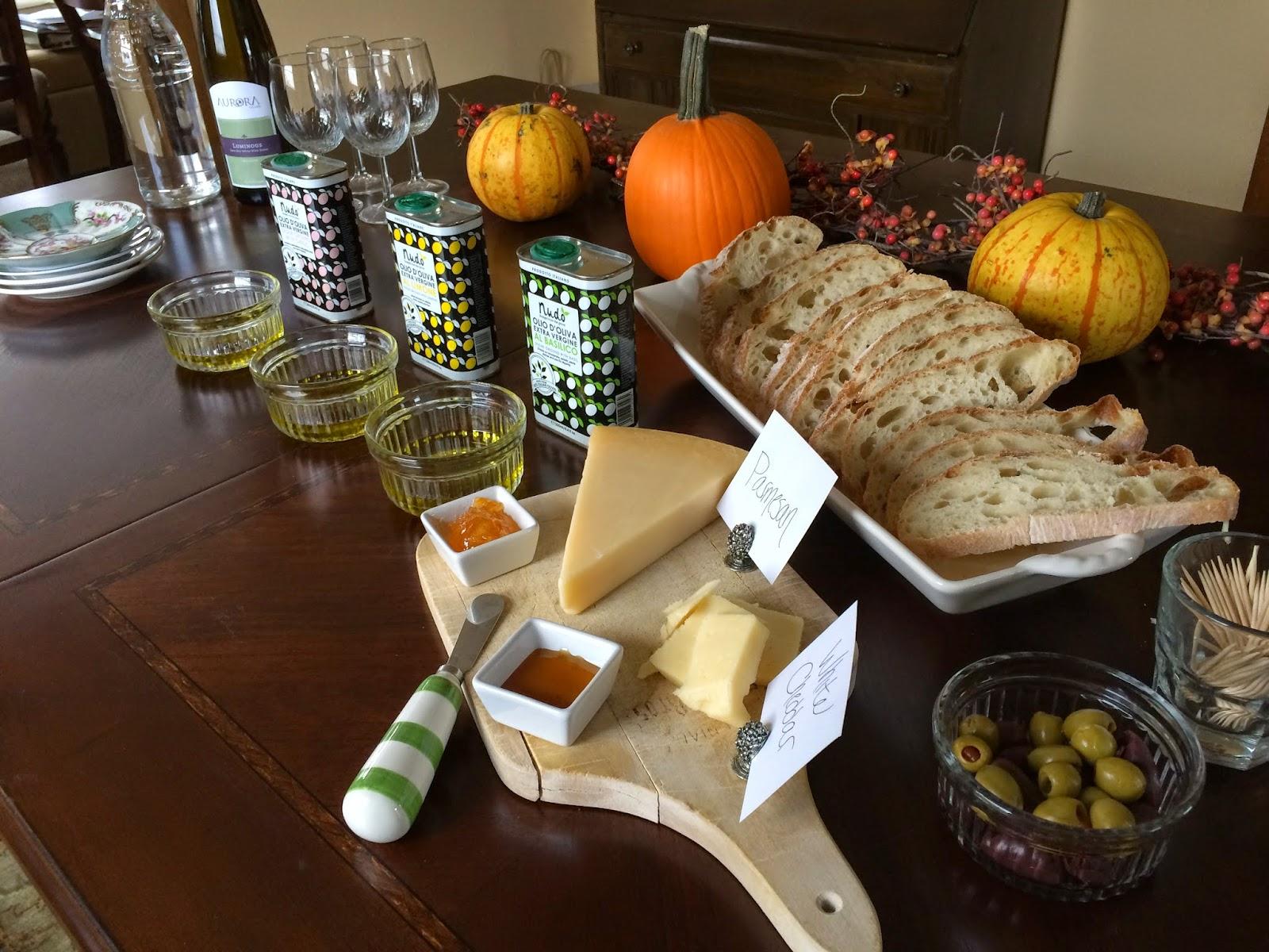 Nudo Italia Olive Oil Tasting