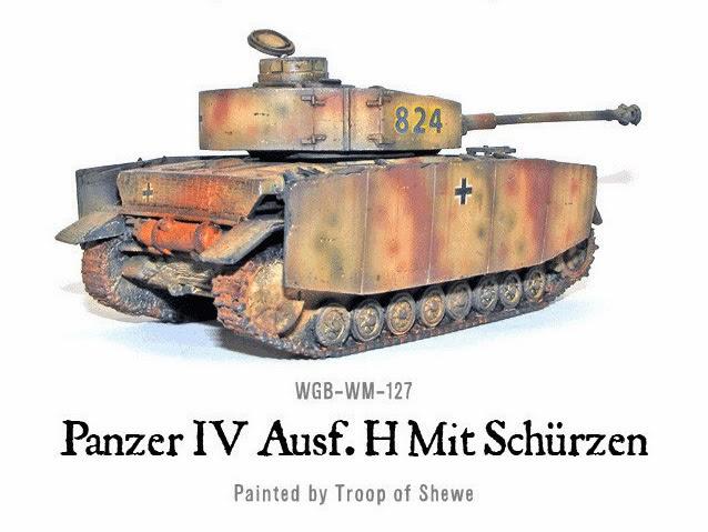 PANZER IV AUSF H MIT SCHURZEN