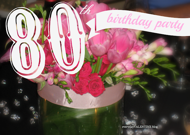 80th birthday party diamonds are a girls best friend for 80th birthday party decoration