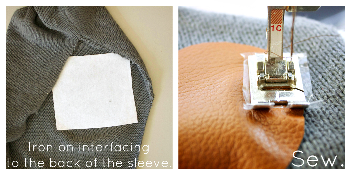 Leather Heart Elbow Patch Tutorial Alida Makes