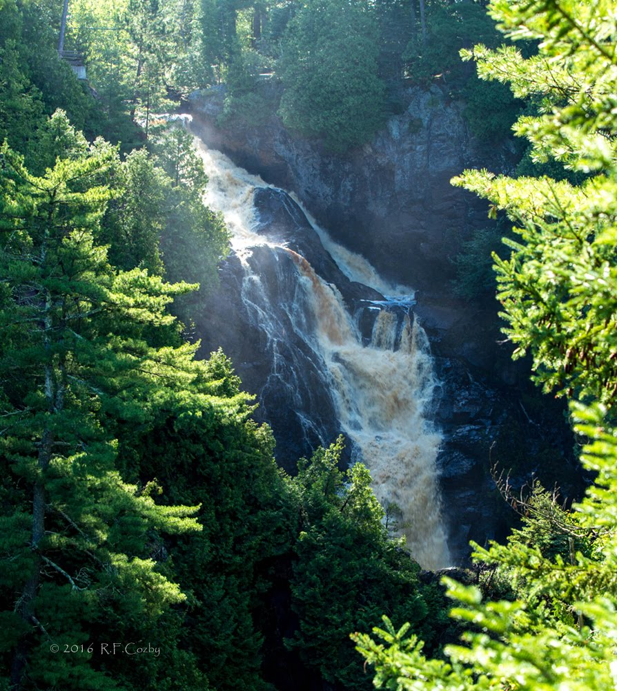 Manitou Falls, Wisconsin