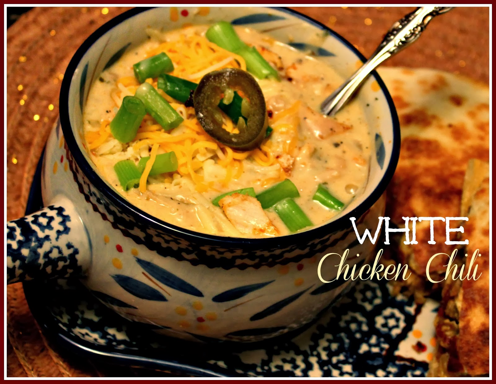 recipe: 4 ingredient white chicken chili [32]