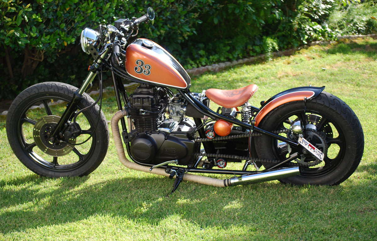 Kz400b 1979 1977 Kawasaki Kz200 Wiring Diagram Hell Kustom Kz400 By Chappell Customs