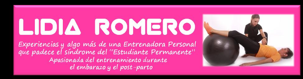 ¡ENTRENA CONMIGO! LIDIA ROMERO