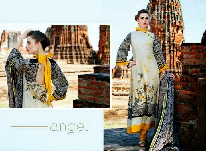 Full Printed Lawn Suit