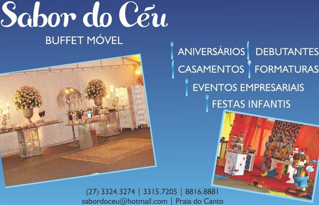 SABOR DO CÉU BUFFET MÓVEL