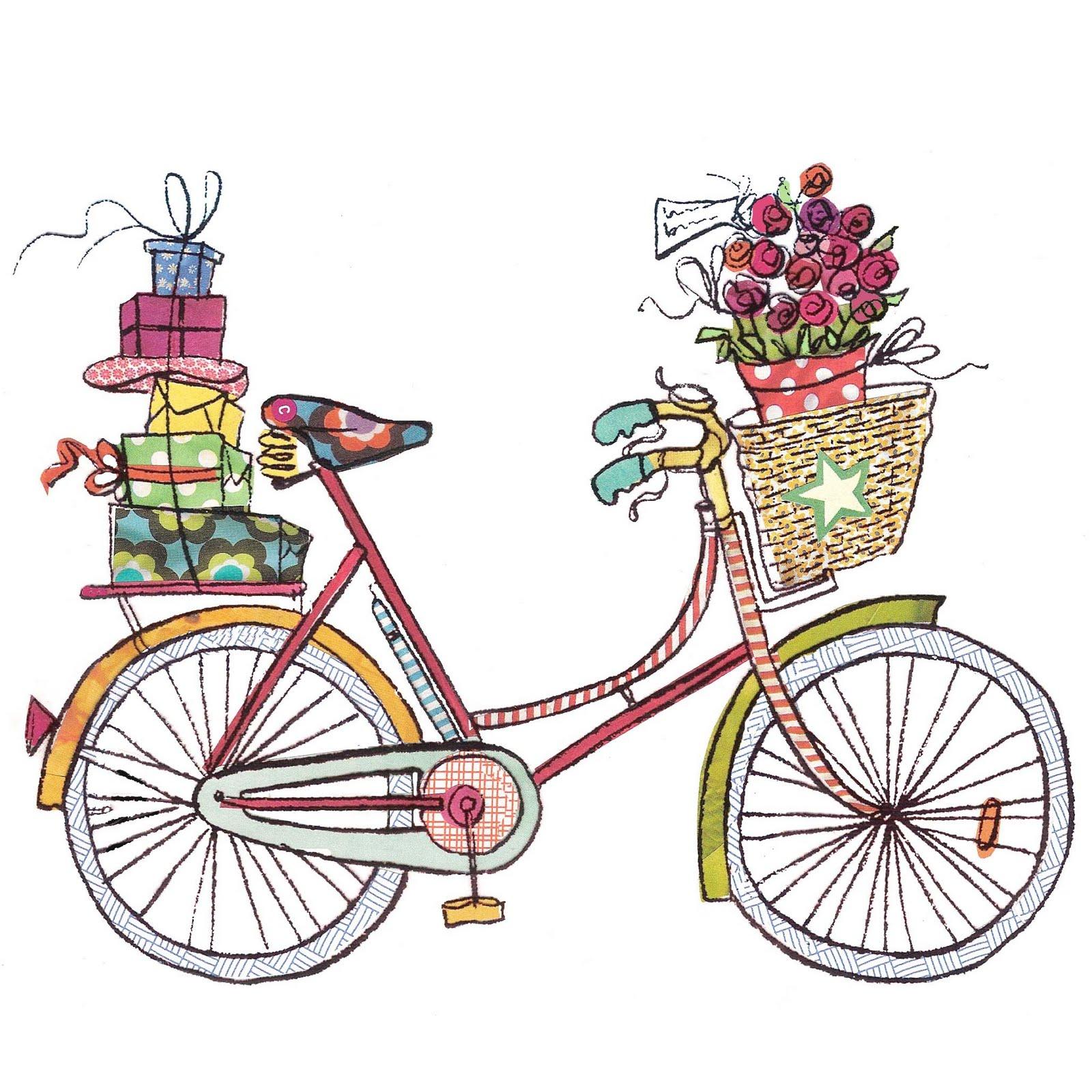 На велосипеде с подарком 120