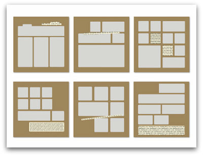 Check This Out Designer Page Templates by Stampin' Up!