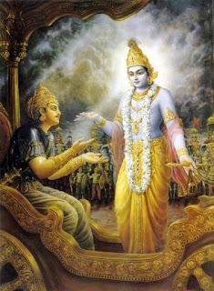 Krishna in Bhagavad Gita
