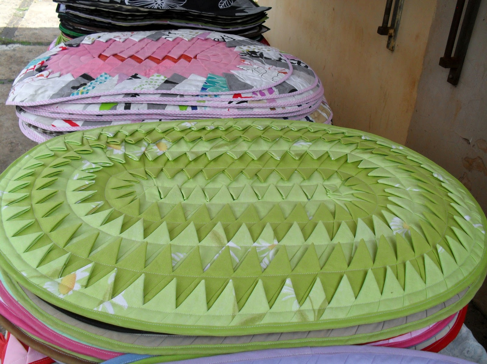 Patchwork Tapete Cozinha Passo A Passo : tapete em patchwork de Barra Bonita ,S.P – O melhor do artesanato