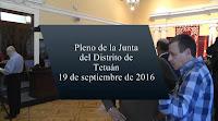 Pleno de la JM de Tetuán sobre Paseo de la Dirección