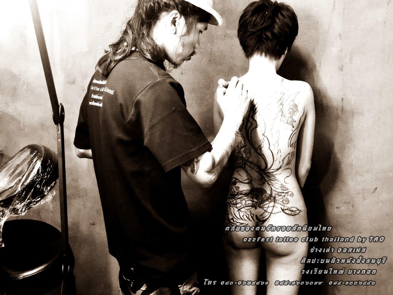 tatouage thailandais femme - Sak Yant Découvrez le tatouage traditionnel thaïlandais