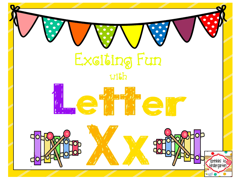 http://www.teacherspayteachers.com/Product/Exciting-Fun-with-Letter-Xx-Xx-Activities-1303952