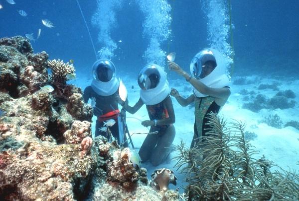 Thám hiểm dưới đáy biển