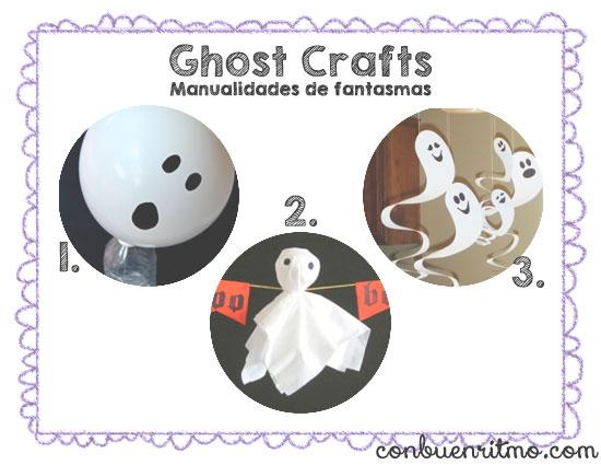 Manualidades de fantasmas