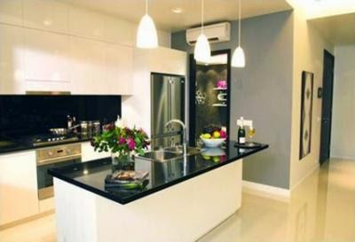 thiết kế phòng bếp tại chung cư Hà Nội